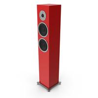 Red Floor Speaker PNG & PSD Images