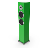 Green Floor Speaker PNG & PSD Images