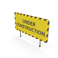 Construction Sign PNG & PSD Images