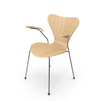Series 7 Wood Chair PNG & PSD Images