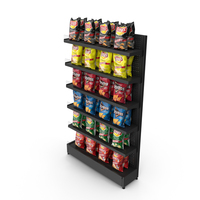 Chips Display PNG & PSD Images