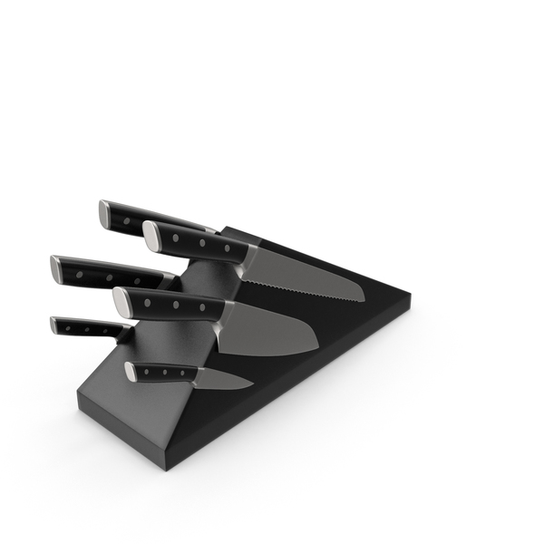 Magnetic Knife Block PNG & PSD Images