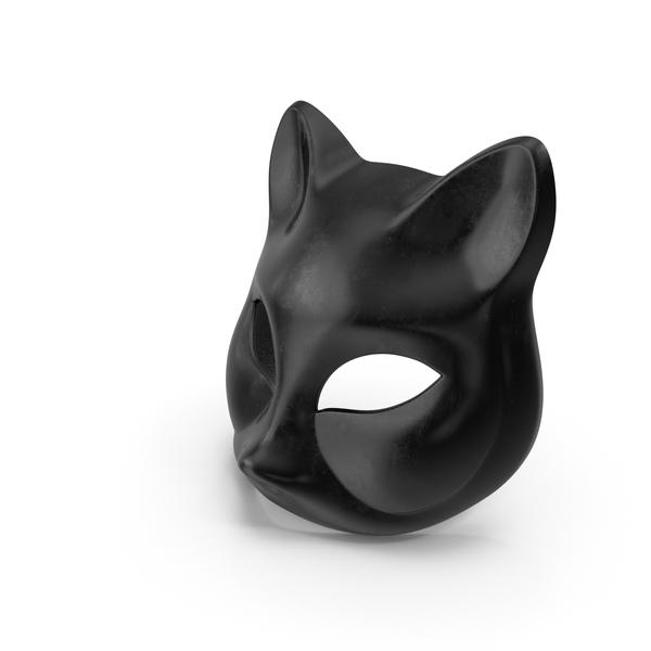 Black Cat Mask PNG & PSD Images