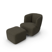 Rolf Benz 384 Arm Chair PNG & PSD Images