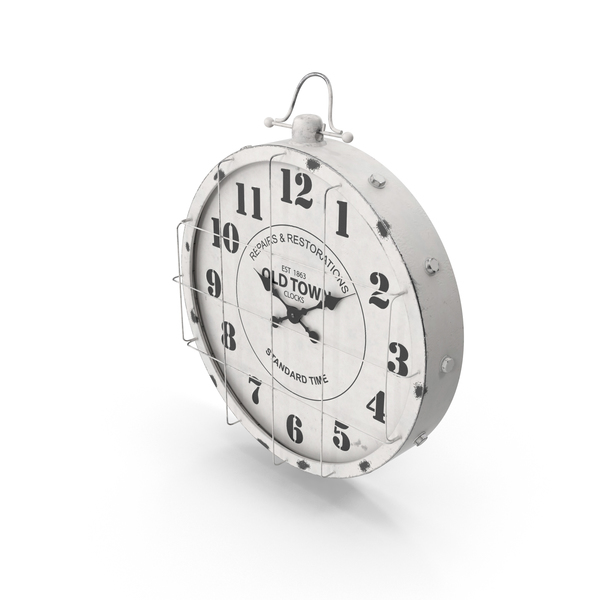 Old Town Clock PNG & PSD Images