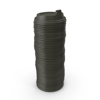 Stack Of Coffee Cup Lids PNG & PSD Images