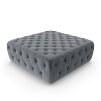 Tufted Pouf PNG & PSD Images