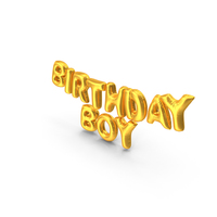 Birthday Boy Balloons PNG & PSD Images