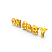 Oh Baby Balloons PNG & PSD Images
