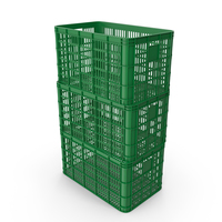 Stacked Plastic Crates PNG & PSD Images