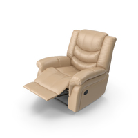 Recliner Chair Beige PNG & PSD Images
