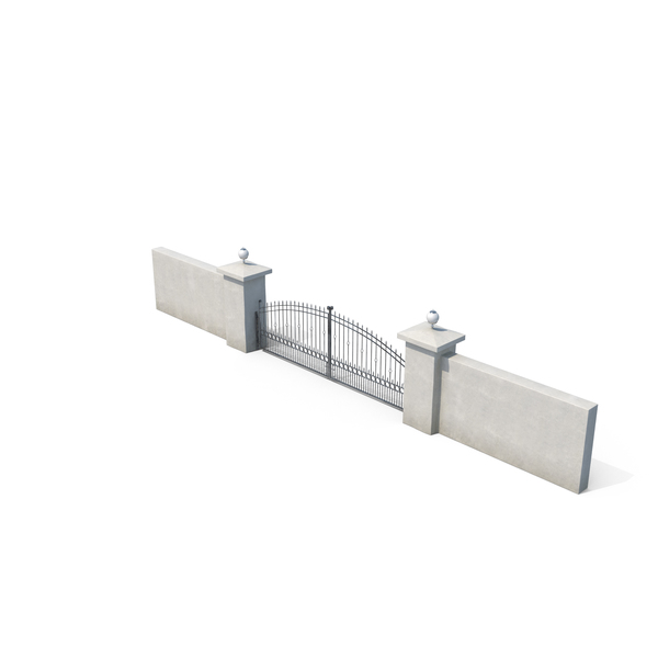 Building Gate PNG & PSD Images