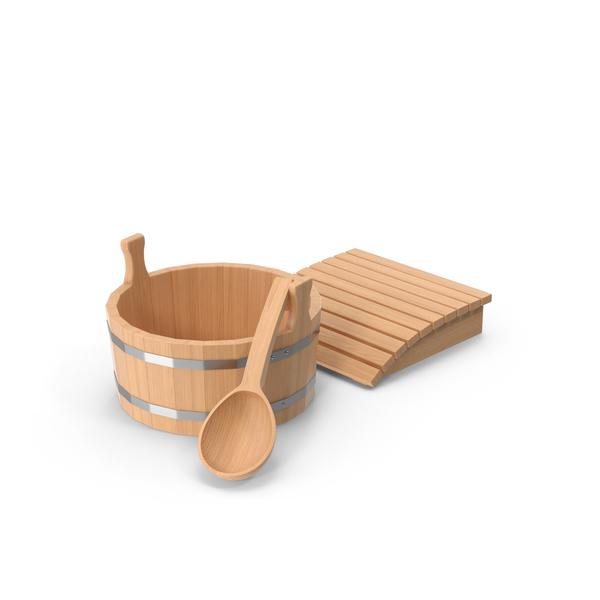 Sauna Accessories PNG & PSD Images
