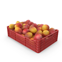 Yellow Mango Crate PNG & PSD Images