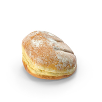 Powdered Donut PNG & PSD Images