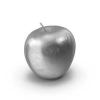 Silver Apple PNG & PSD Images