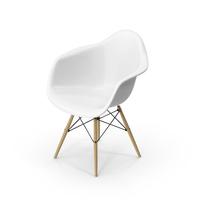 Eames Dowel-Leg Armchair PNG & PSD Images