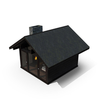 Forest Cabin PNG & PSD Images