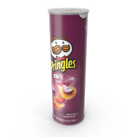 BBQ Pringles PNG & PSD Images