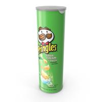 Sour Cream & Onion Pringles PNG & PSD Images