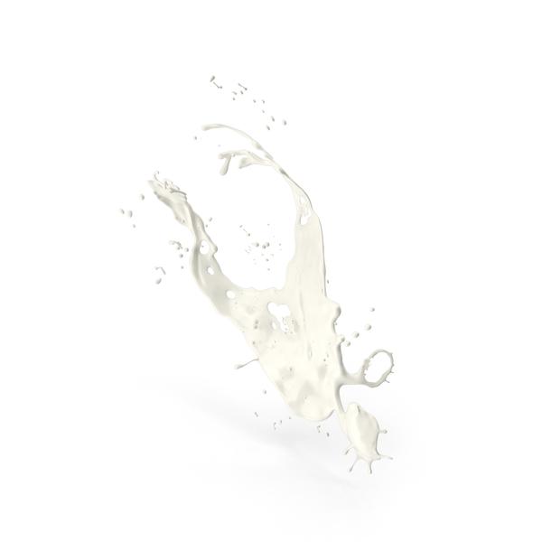 Milk Splash PNG & PSD Images