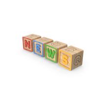 Alphabet Blocks News PNG & PSD Images