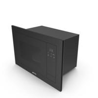 Smeg FMI120N1 Microwave PNG & PSD Images