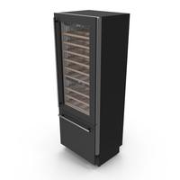 Smeg WI66RS Wine Cooler PNG & PSD Images