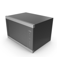 Smeg FMI325X Microwave Oven PNG & PSD Images