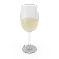 Glass of White Wine PNG & PSD Images