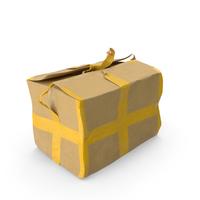 Old Damaged Cardboard Box PNG & PSD Images