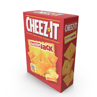 Cheddar Jack Cheez-It PNG & PSD Images