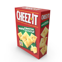 White Cheddar Cheez-It PNG & PSD Images