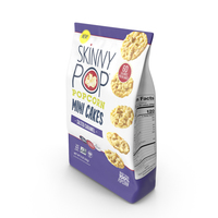 SkinnyPop Salted Caramel Mini Cakes PNG & PSD Images