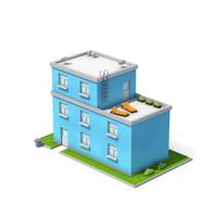Blue Building PNG & PSD Images