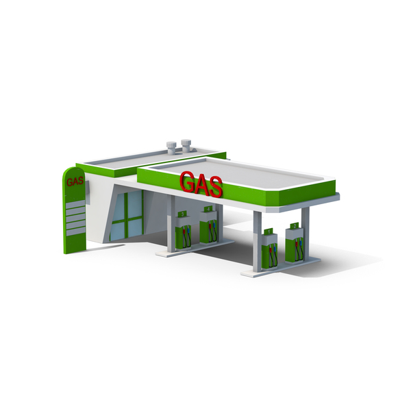 Gas Station PNG & PSD Images