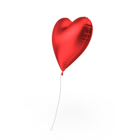 Foil Balloon Heart PNG & PSD Images