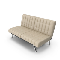 Tufted Office Sofa PNG & PSD Images