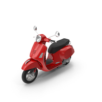 Italian Scooter PNG & PSD Images