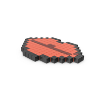 Pixelated Lips Icon PNG & PSD Images