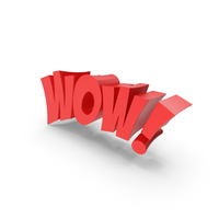 Wow Text PNG & PSD Images