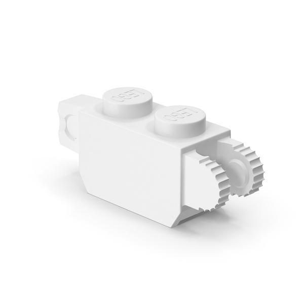 Lego 1x2 Vertical Hinge Brick PNG & PSD Images
