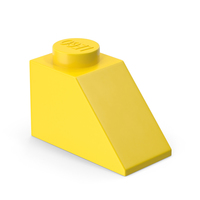 Lego 2x1 Slope Brick PNG & PSD Images