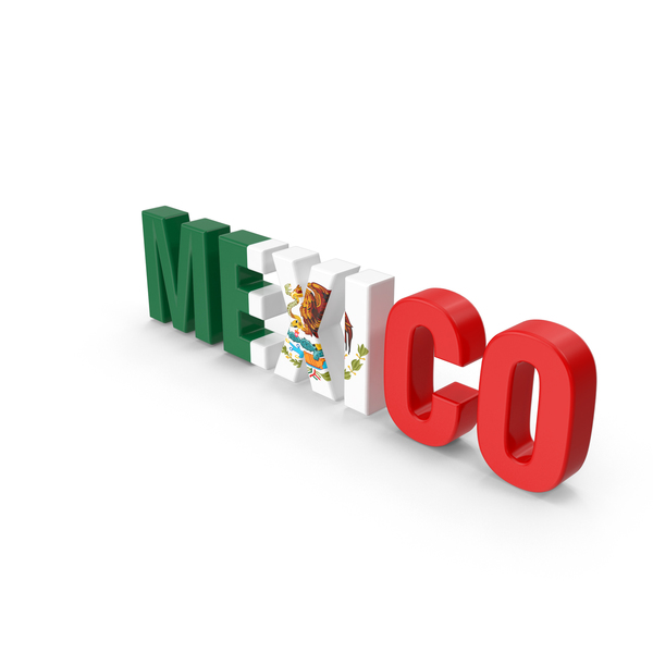 Mexico Text PNG & PSD Images