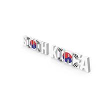 South Korea Text PNG & PSD Images