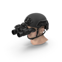 Military Helmet with Head PNG & PSD Images
