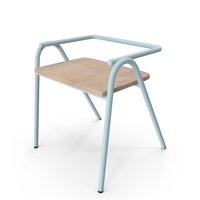 Dowel Jones Half Hurdle Chair Horizon blue PNG & PSD Images
