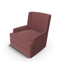 Armchair Maroon PNG & PSD Images