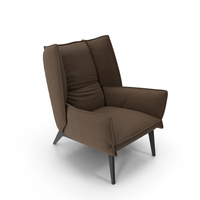 Brown Armchair PNG & PSD Images