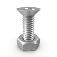 Bolt with Nut PNG & PSD Images